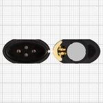 Speaker + Buzzer compatible with LG B1200, B1300; Alcatel 320
