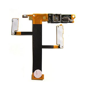Flat Cable for Sony Ericsson W350 Cell Phone, (speaker, camera, with components)