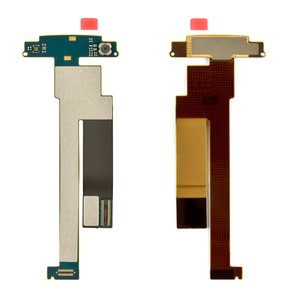 Flat Cable for Nokia N86 Cell Phone, (Original, for mainboard, with components, with camera) #0210082