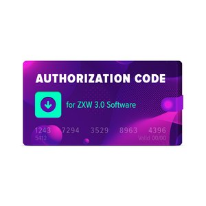 Authorization Code for ZXW 3 0 Software
