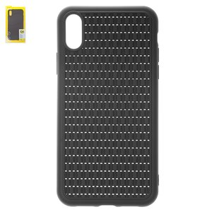 Case Baseus compatible with iPhone XR, (black, braided) #WIAPIPH61-BV01