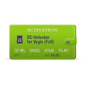 Activación DC-Unlocker para Vygis (Completa)