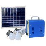 Estación de energía solar portátil DC 5 W, 12 V / 4 Ah, Poly 18 V / 5 W