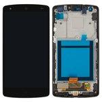 Дисплей для мобильных телефонов LG D820 Nexus 5 Google, D821 Nexus 5 Google, черный, с сенсорным экраном, с передней панелью, Original (PRC)