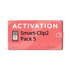 Активация Smart-Clip2 Pack 5
