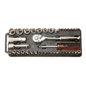 Набор торцевых головок и бит Pro'sKit 8PK-227 с трещоткой