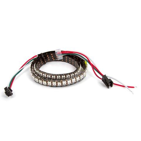 Світлодіодна стрічка RGB SMD5050, WS2812B з управлінням, IP20, 144 діодів м, 1 м