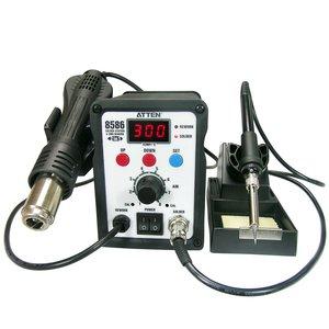 Термовоздушная паяльная станция ATTEN AT8586