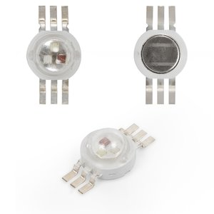 LED 3 W (RGB, 6-pin, 350 mA)