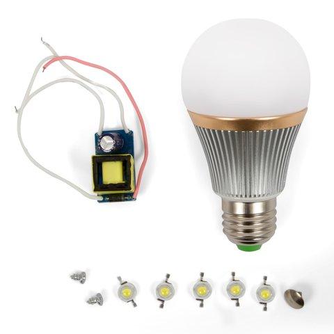 LED Light Bulb DIY Kit SQ Q22 5 W natural white, E27