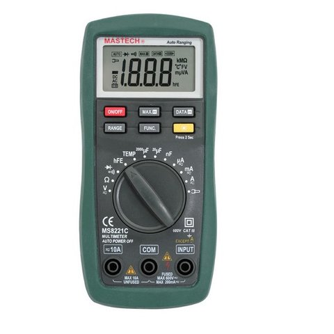 Digital Multimeter MASTECH MS8221C